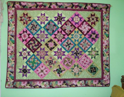 Quilt from a Student Kensington Kaleidoscope