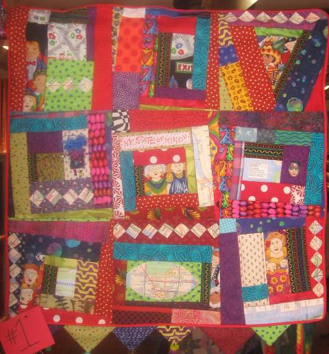 """""""NY State of Mind"""" Challenge Quilt"""