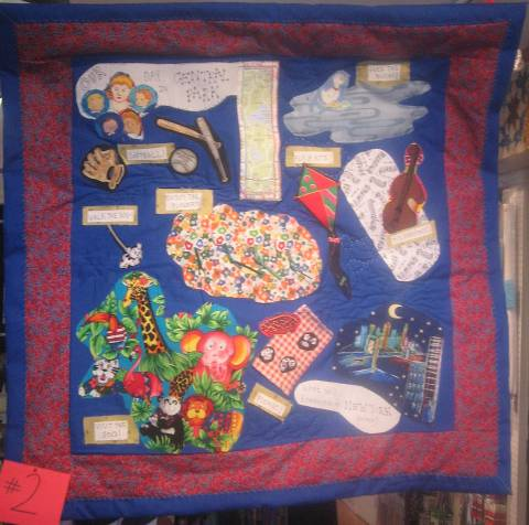 """Our Day in Central Park"" Challenge Quilt"