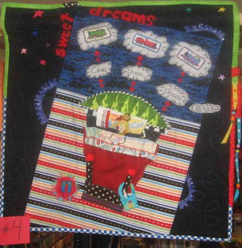 """Sweet Dreams"" 2009 Challenge Quilt"