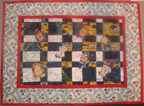 2009 Challenge Quilt Convergence