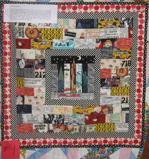 2009 Challenge Quilt New York Mosaic