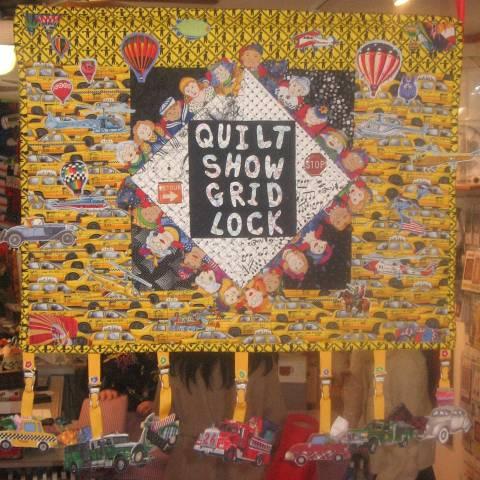 Quilt Show Grid Lock 2009 Challenge Quilt