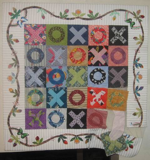 Breast Cancer Quilt: The Support Quilt