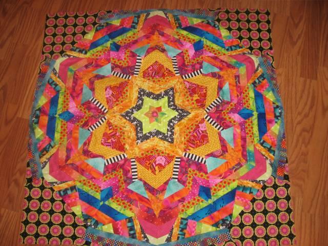 Ricky Trim Kaleidoscope Quilt