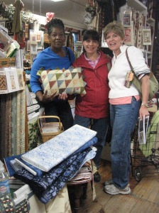 Quilting Trip Group Photo