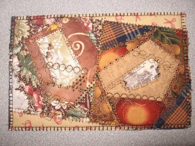 Postcard Quilt 4