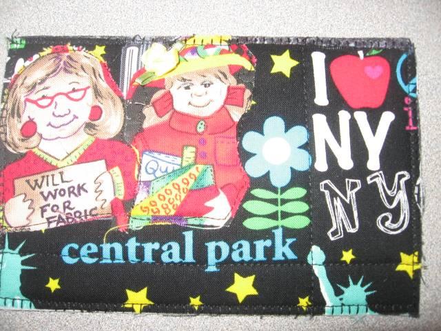 I Love NY Postcard Quilt