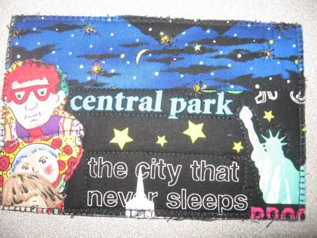Central Park Postcard Quilt