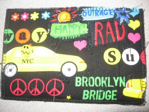 Brooklyn Bridge Postcard Quilt