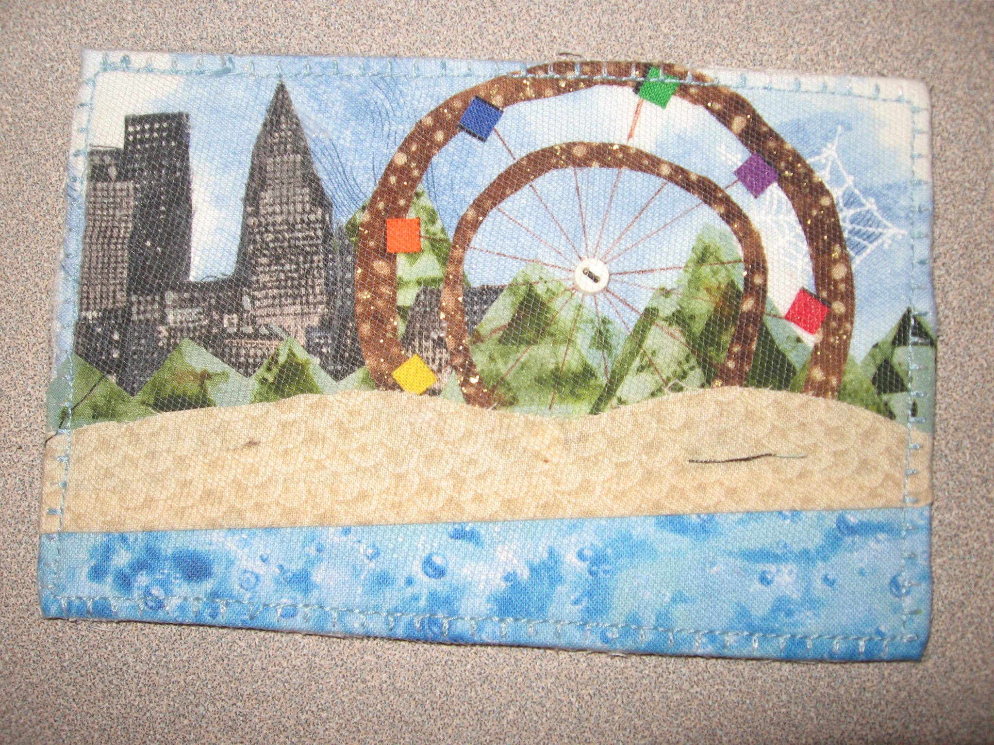 Even MORE Postcard Quilts | The Quilter: Quilting with Malke : postcard quilts - Adamdwight.com