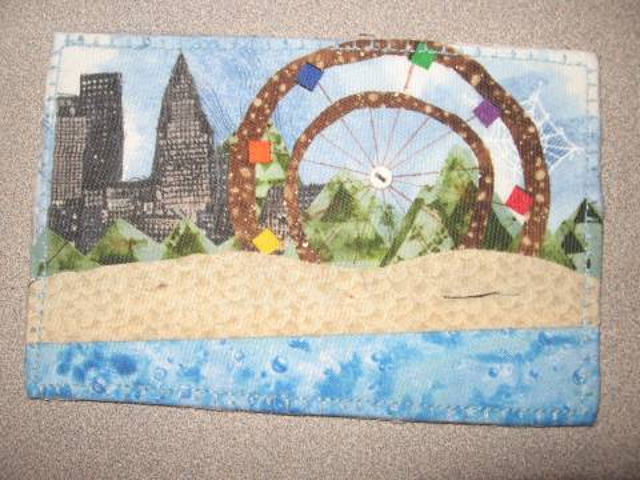 Coney Island Postcard Quilt