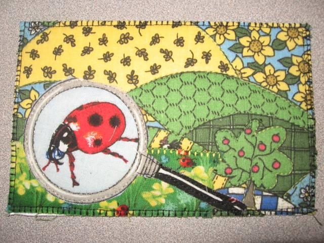 Ladybug Postcard Quilt
