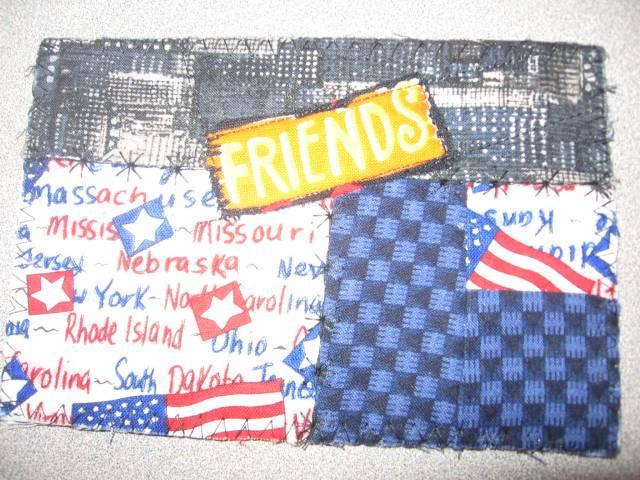 US Postcard Quilt
